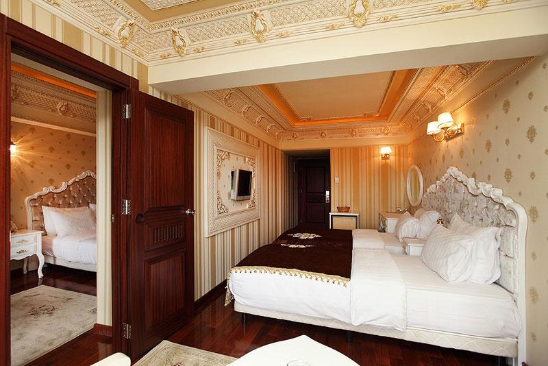 habitaciones conectadas deluxe golden horn hotel